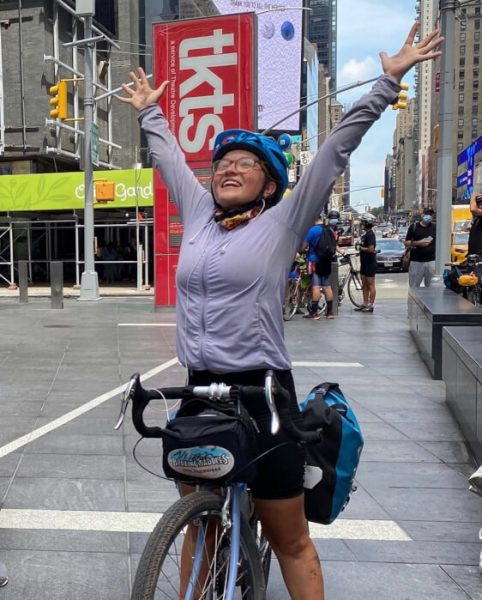 Dasha: Dasa Yurkevich celebrates reaching New York and the end of a long journey.