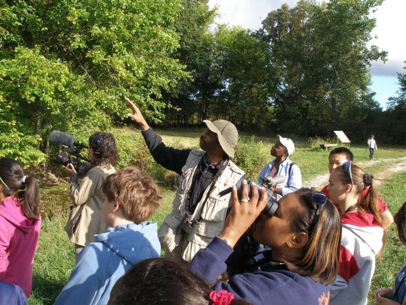 Helping inner city and minority youth/ young adults become interested in nature through the immersive experience of bird watching. John Robinson.