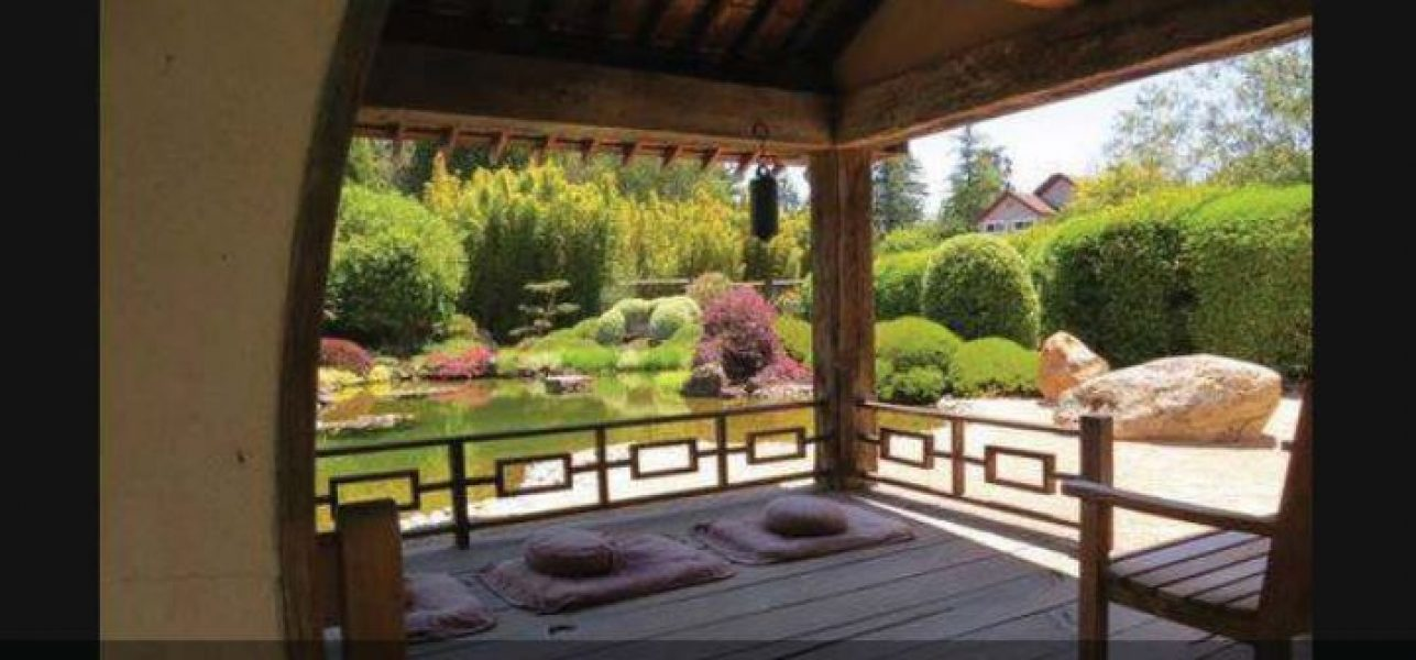 Extensive Zen gardens are designed to encourage you to embrace nature's beauty in quietude.