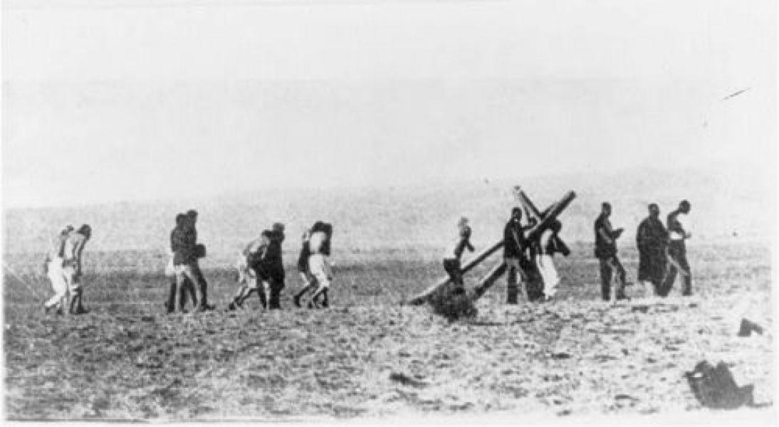 Penitentes Procession c. 1900 Taos, New Mexico