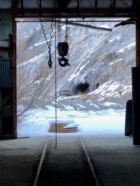 Old tram tracks at Pine Creek Mine. Photo: Gigi de Jong