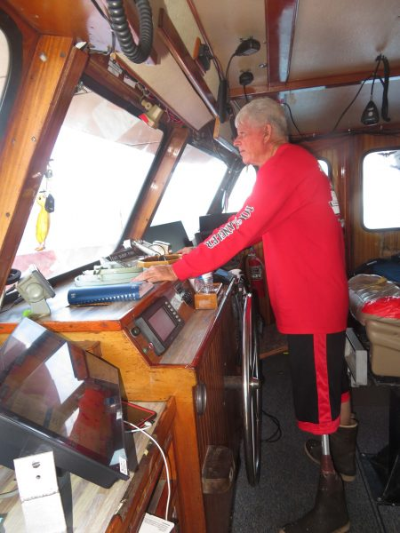 SA80 CAPTAIN SCOTT MCDANIELS returns to the wheelhouse on the hunt for fish and good times.