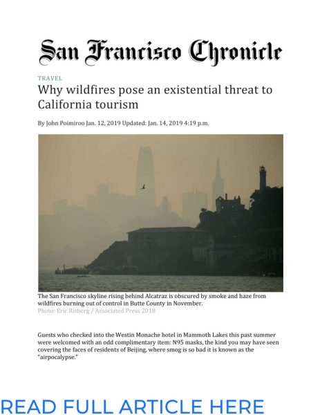 SF Chronicle - Why Wildfires Pose an Existential Threat to California Tourism